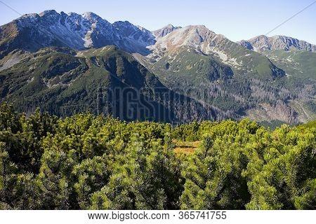 View From Volovec To The Rohac Ridge With Peaks: Tri Kopy 2, 154 M Above Sea Level, Hruba Kopa 2, 16