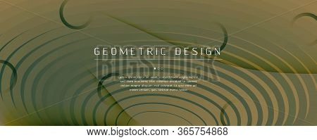 Camouflage Landing Page Design. Abstract Flow Shapes Banner. Vivid Digital Movement. Army Futuristic
