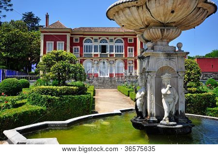 Fronteira Palace In Lisbon, Portugal