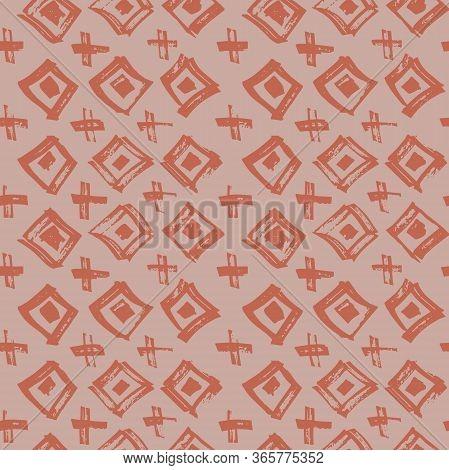 Tie Dye Japanese Geometric Organic Seamless Pattern. Scribble Cartoon Doodle Craft Texture. Geo Wabi