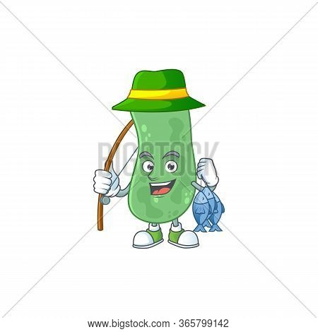 A Picture Of Enterobacteriaceae Fisher Mascot Design Catch A Fish