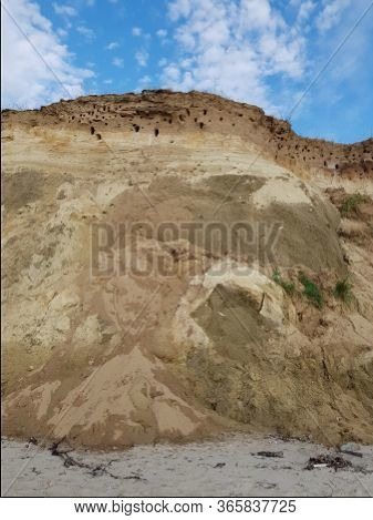 Cliff On The Baltic Sea Near Darß Zingst Fischland