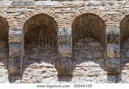 Albornoz fortress. Narni. Umbria. Italy.