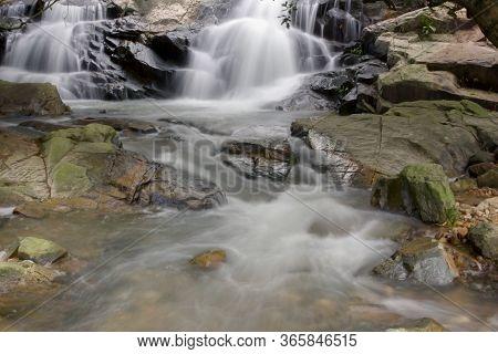 9 June 2008 Nice Waterfall In Little Hawaii Trail, Tseung Kwan O,