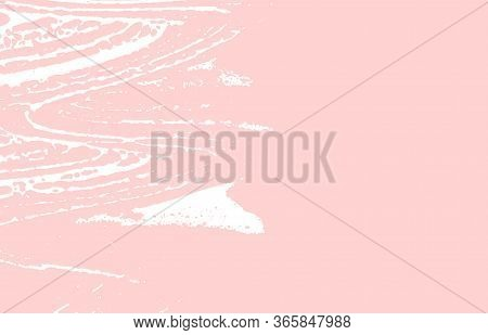 Grunge Texture. Distress Pink Rough Trace. Flawless Background. Noise Dirty Grunge Texture. Valuable