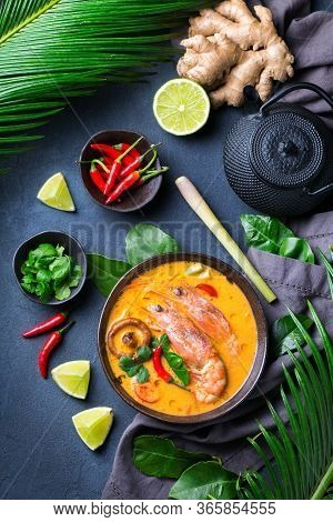 Spicy Thai Tom Yum, Yam Kung Sour Soup