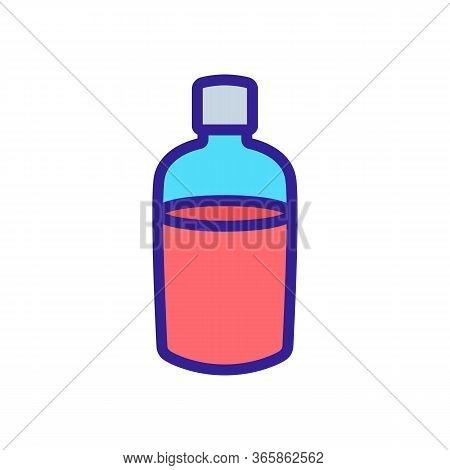 Spray Atomizer Icon Vector. Spray Atomizer Sign. Color Symbol Illustration