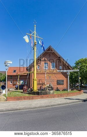 Haren, Germany - May 09, 2020: Front Of The Maritime Museum In Haren, Germany