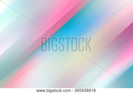 Abstract Colorful Background, Shiny Blurred Pattern, Cg Illustration