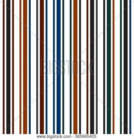 Vertical Stripes Seamless Pattern. Cool Lines Endless Design. Summer, Spring Seamless Stripes Textur