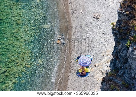 snorkeling at Cap de Peyrefite, Languedoc-Roussillon, France