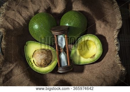 Ripened Organic Hass Avocados Help To Lead A Healthy And Balanced Diet