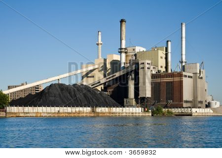 Coal Burning Electrical Power Plant