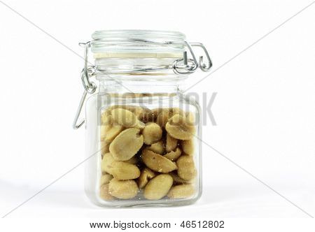 Peanuts in the glass