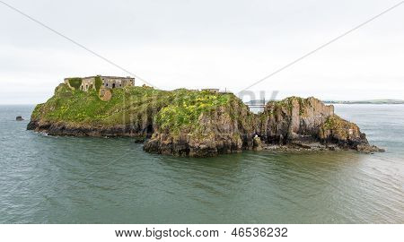 St Catherines fort and island Tenby Wales