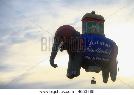 Elephant Hot Air Balloon