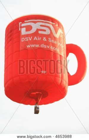 Coffee Mug Hot Air Balloon