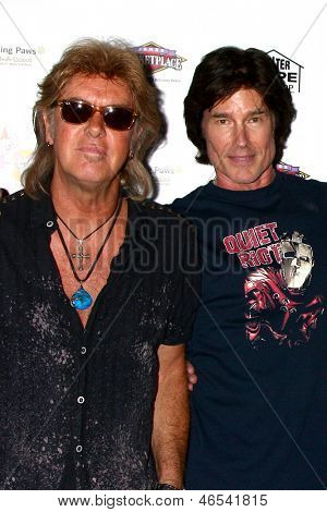LOS ANGELES - JUN 3:  Peter Beckett, Ronn Moss of Player at the Player Concert at the Canyon Club on June 3, 2013 in Agoura, CA