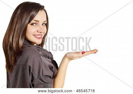 Woman With Hand