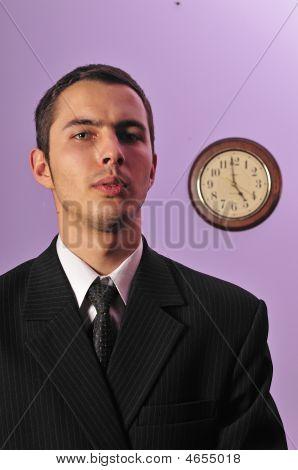 Businessman In Business Attire