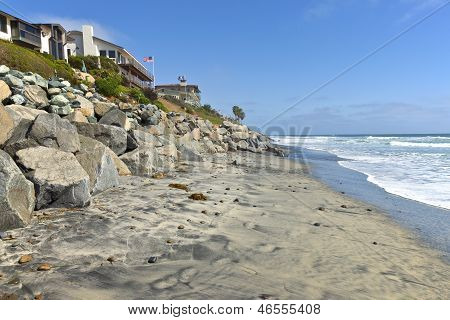 Erosion Control California Beaches.