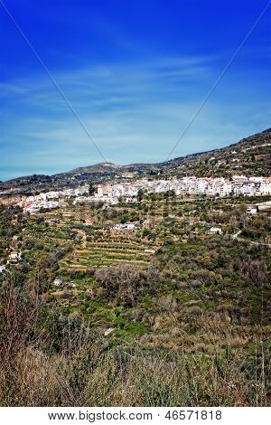 White Village In Andalusia, Spain