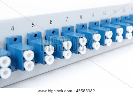 Fiber Optic Distribution Frame With Sc Adapters