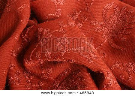 Tapestry In Tangerine