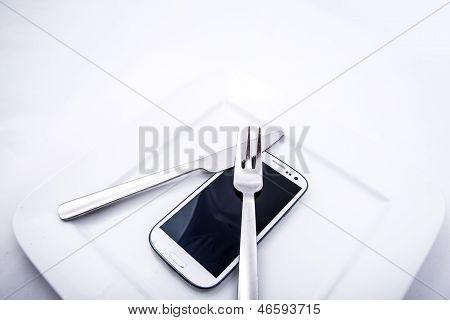 Smartphone Food.