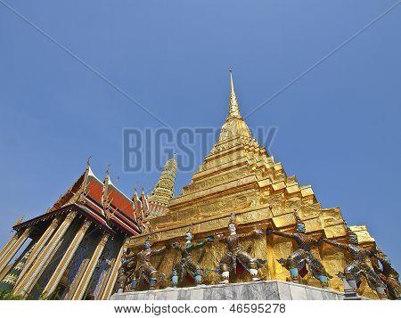 Stupa And Palace