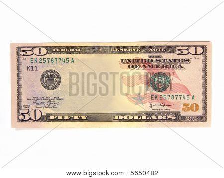 Blank Us Bank Note (asset Cash Profit)