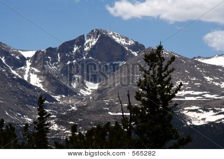 Colorado's Longs Peak