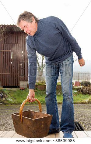 Aged Man With Rheumatism