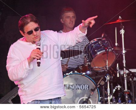 Shaun Ryder of the Happy Mondays (and Black Grape)