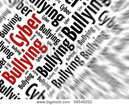 Tagcloud - Cyber bullying