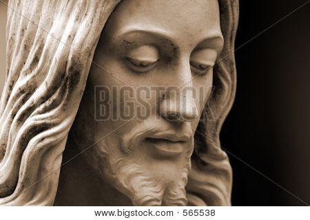 Sepia Of Jesus Christ