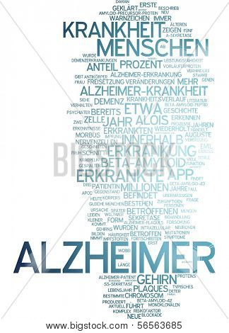 Word cloud - Alzheimer