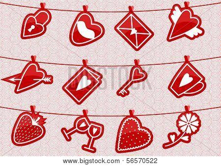 Haning Love Icons