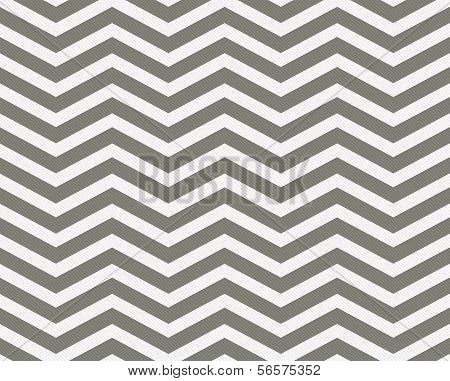 Gray and White Zigzag Textured Fabric Background that is seamless and repeats poster