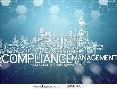 Word cloud - compliance