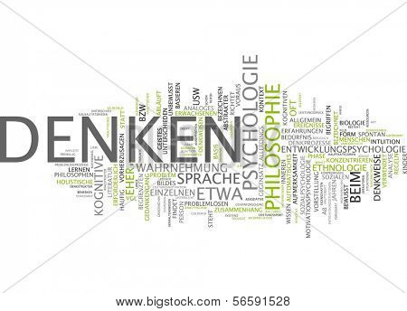 Word cloud - think