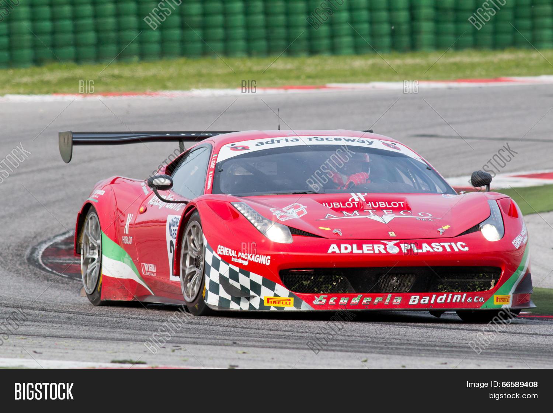 Ferrari 458 Italia Gt3 Image Photo Free Trial Bigstock