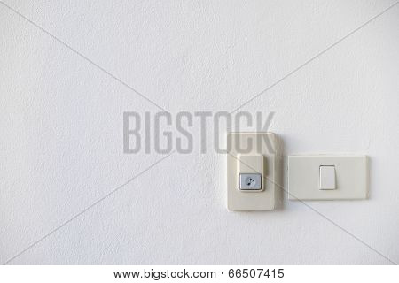 House Doorbell With Light Switch