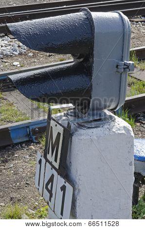 Railway shunting dwarf traffic signal