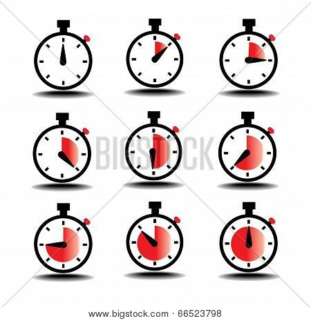 Clock Count Time