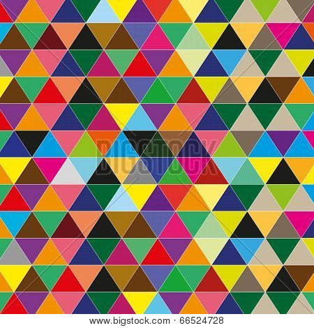 vector color triangle background