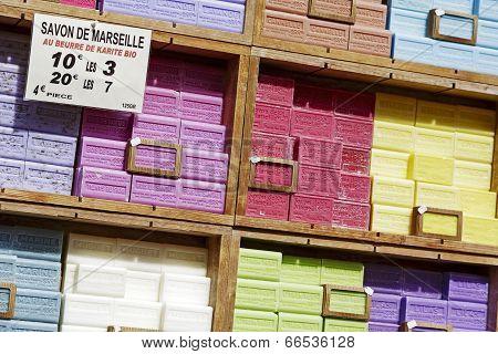 Marseille Soap Also Called Savon De Marseille