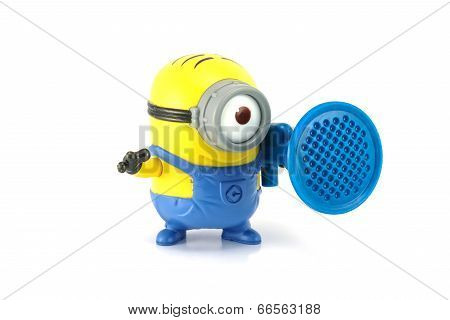 Minion Stuart Blaster Toy Figure.