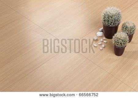 Texture of wooden floor with empty space