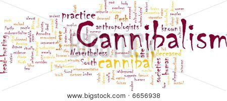 Cannibalism Word Cloud